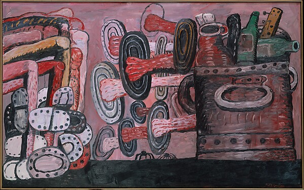 The Street, Philip Guston (American (born Canada), Montreal 1913–1980 Woodstock, New York), Oil on canvas