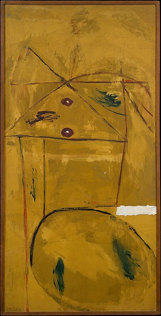 The Homely Protestant, Robert Motherwell (American, Aberdeen, Washington 1915–1991 Provincetown, Massachusetts), Oil and tempera on composition board