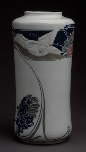 Vase, Georges de Feure (French, Paris 1868–1943 Paris), Porcelain