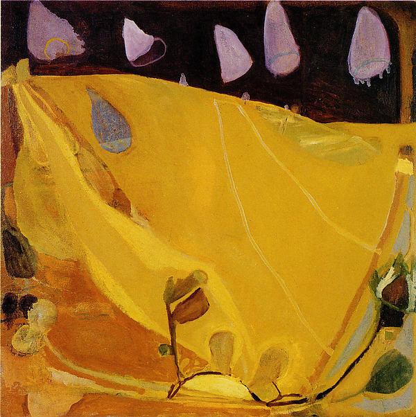 Good as Gold, Julian Hatton (American, born Grand Haven, Michigan 1956), Oil on canvas