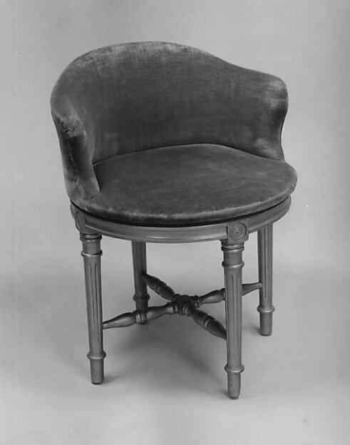 Chair, John H. Hopkins (American), Painted wood