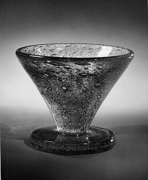 Vase, Maurice Marinot (French, Troyes 1882–1960 Troyes), Glass