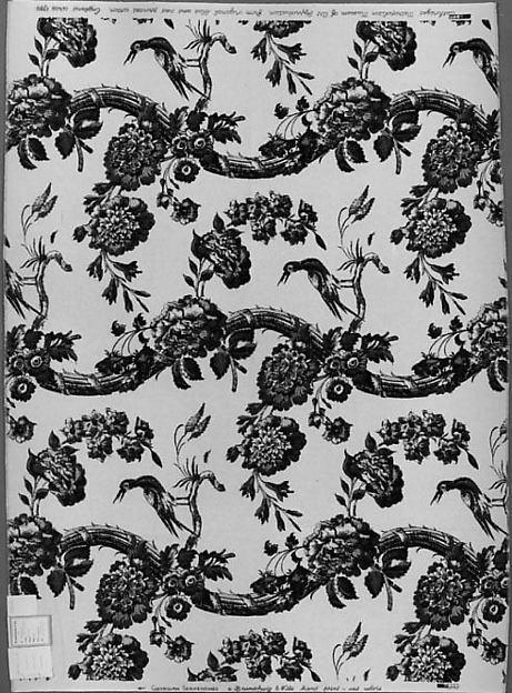 """Georgian Serpentines"" Textile, Silk-screened cotton"