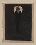 Alfred Stieglitz, L'accoucheur d'idées (The Midwife to Ideas), Marius de Zayas (Mexican, Veracruz 1880–1961 Stamford, Connecticut), Charcoal and graphite on paper