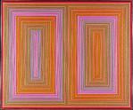 Winter-Summer Reds, Richard Anuszkiewicz (American, born Erie, Pennsylvania, 1930), Acrylic on canvas