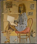 Self-Portrait, Elaine de Kooning (American, Brooklyn, New York 1918–1989 Southampton, New York), Oil and charcoal on canvas