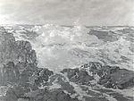 October Seas, Paul Dougherty (American, Brooklyn, New York 1877–1947 Palm Springs, California), Oil on canvas