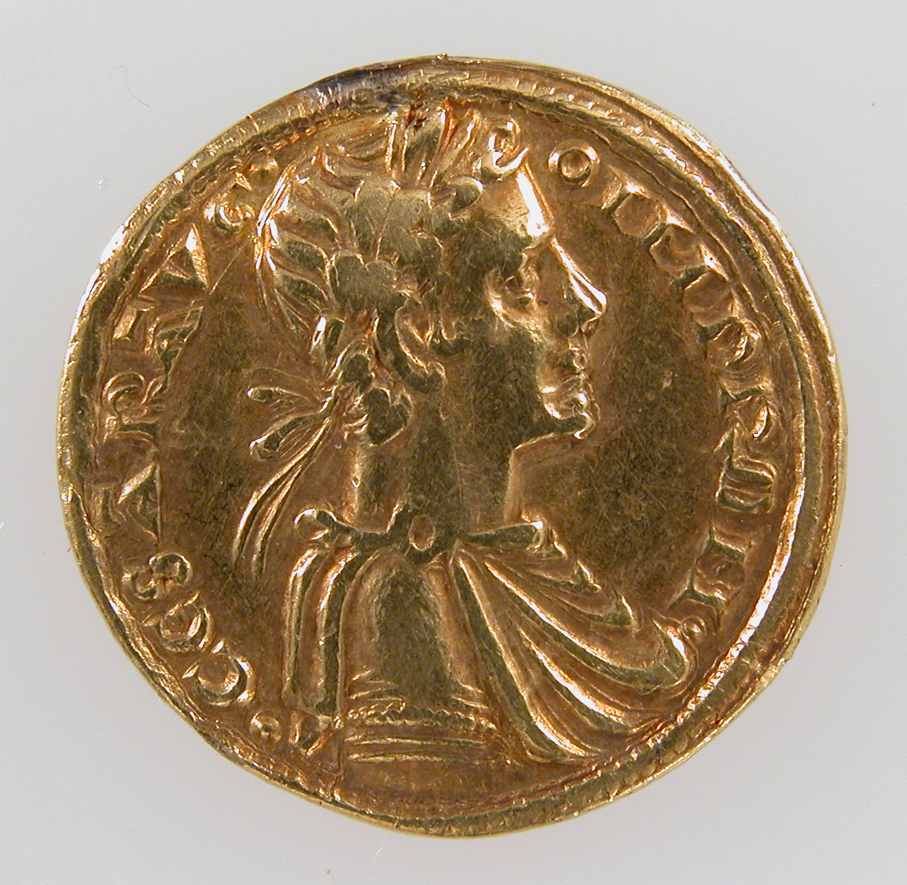Münze Augustalis von Friedrich II. Staufer