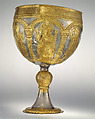 The Attarouthi Treasure - Chalice, Silver and gilded silver, Byzantine