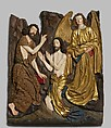 Baptism of Christ, Workshop of Veit Stoss (German, Hob am Neckar ca. 1445–1533 Nuremberg), Limewood with paint and gilding, German