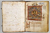 Illuminated Psalter, Tempera, black ink and gold on parchment, Byzantine