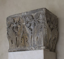 Impost Block with Acanthus Decoration, Limestone, French