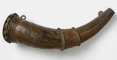 Hunting Horn, Horn, silver-gilt mounts, French