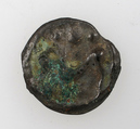 Coin of the Senones, Potin, Celtic