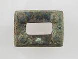 Rectangular Plaque, Copper alloy, Frankish