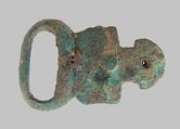 Buckle, Copper alloy, Frankish