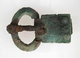 Small Buckle, Copper alloy, iron tongue, Frankish