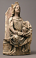 Virgin and Child, Limestone with traces of polychromy, French or German