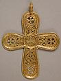 Gold Cross Pendant, Gold, Byzantine