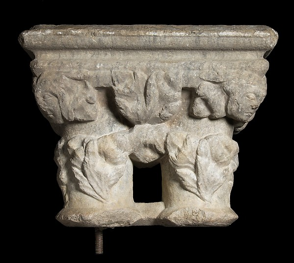 Double Column, Marble, French