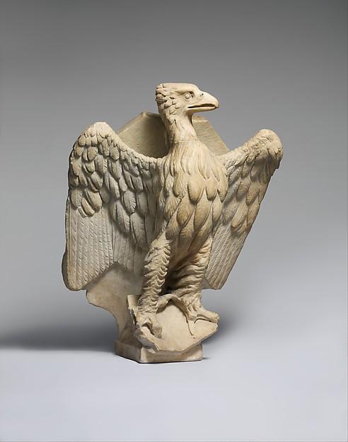 Lectern for the Reading of the Gospels with the Eagle of Saint John the Evangelist, Giovanni Pisano (Italian, Pisa ca. 1240–1319 Siena), Marble, Italian