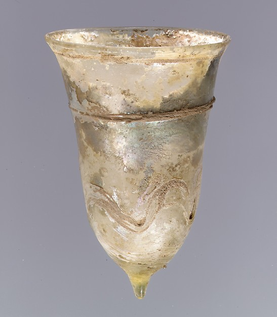Bell Beaker, Glass, Frankish