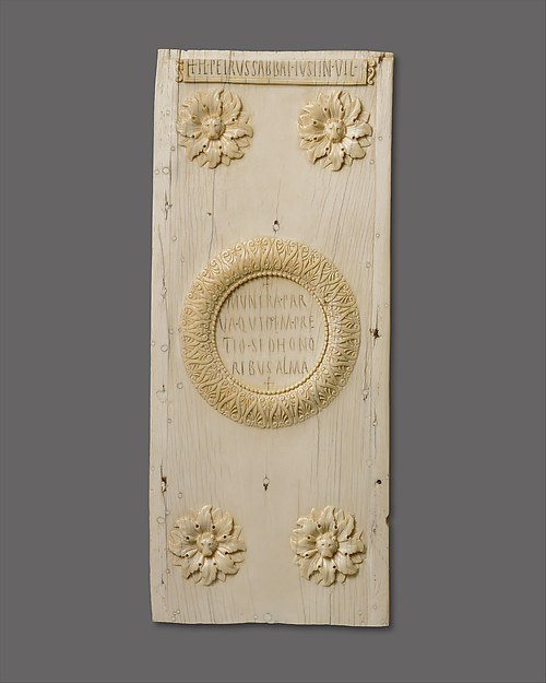 Panel of a Diptych Announcing the Consulship of Justinian, Ivory, Byzantine