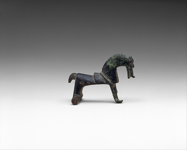 Horse-Shaped Brooch, Bronze, Celtic