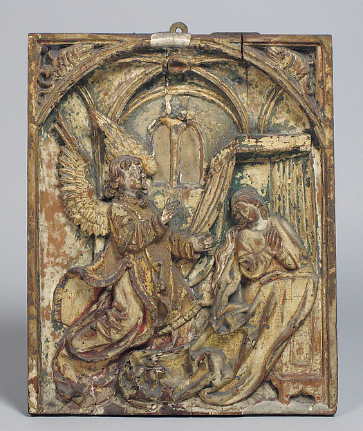 The Annunciation, Pearwood, German