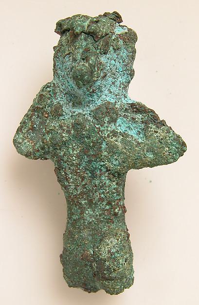 Small Figure, Copper alloy, Coptic
