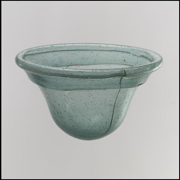 Palm Cup, Glass, Frankish