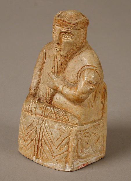 Chess Piece of a King, Plaster cast, Scandinavian