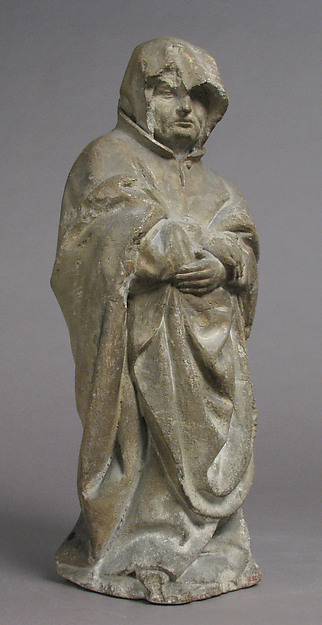 Mourner, Limestone, French