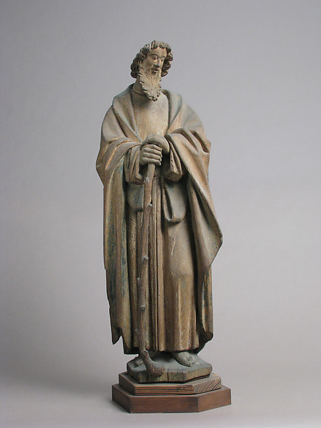St. James the Less, Oak with traces of polychromy and gilding, North Netherlandish
