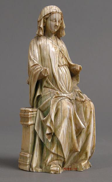 Virgin, Ivory, French
