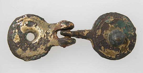 Implement, Bronze-gilt, Frankish
