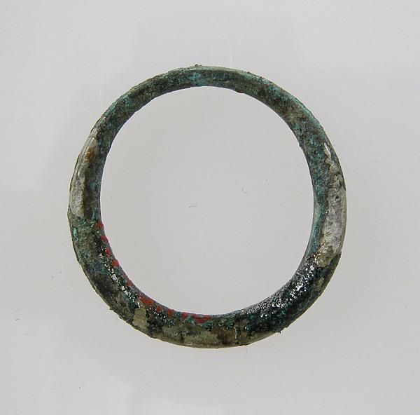 Plain Ring, Copper alloy, Frankish
