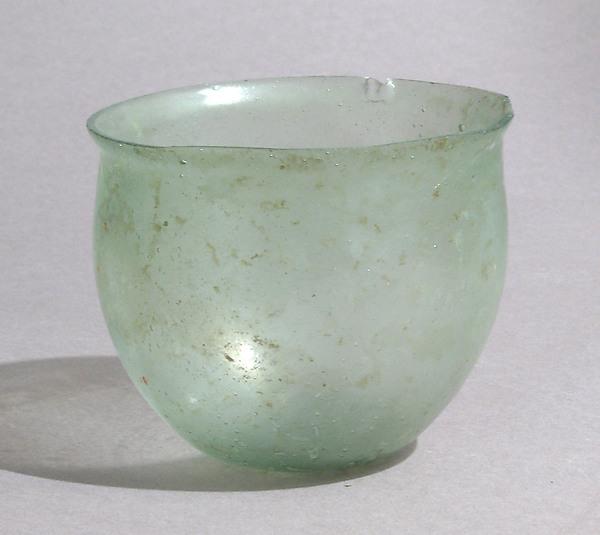 Bowl, Glass, Late Roman