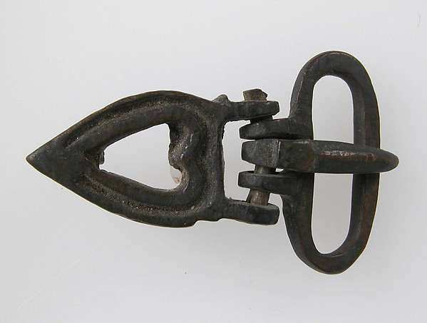 Buckle, Cast copper alloy, Byzantine