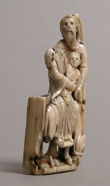 Relief of the Holy Family, Ivory, British or North French