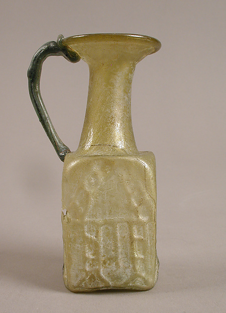 Jug, Glass, Syrian