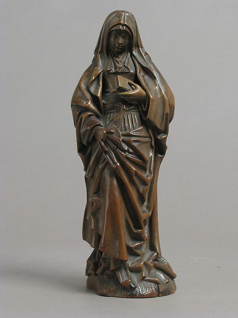 Virgin, Boxwood, South Netherlandish