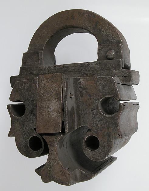 Padlock, Iron, French