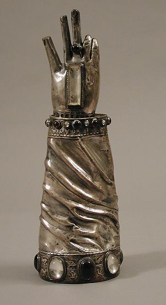 Shrine of Saint Patrick's Hand, Silver, gem stones, Irish