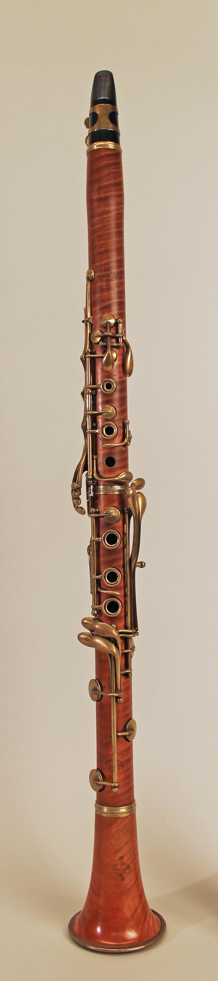 Dating a buffet clarinet barrels