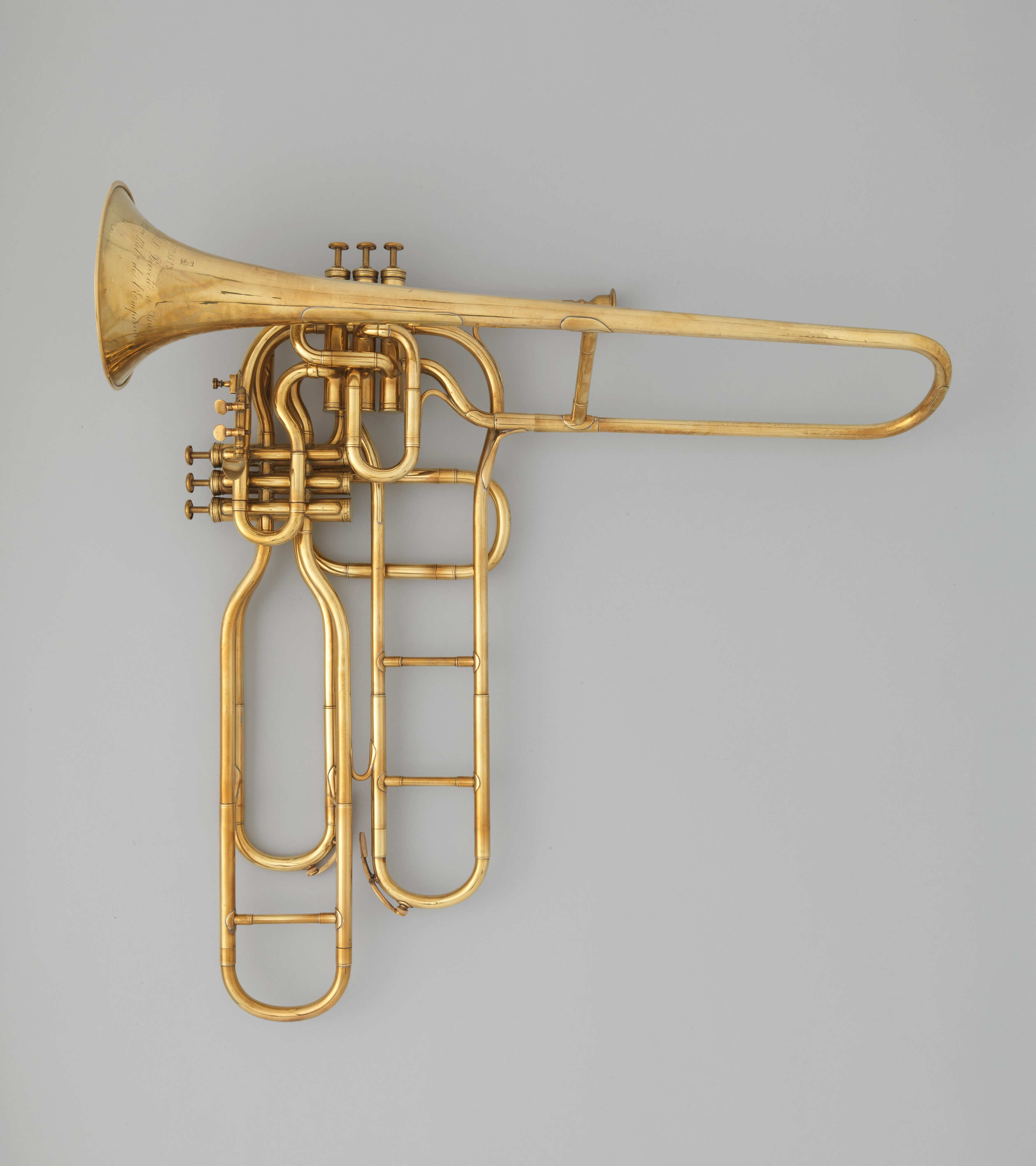 DP331005 adolphe (antoine joseph) sax tenor valve trombone french the met
