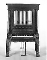 Chamber Organ, Attributed to George Clisbee (American, Marlborough, Massachusetts 1828–1885 Marlborough), Wood, various materials, American