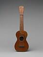 Ukulele, Nicòla Turturro (American, Bitonto, Italy 1872–1953 New York), Mahogany, rosewood, America