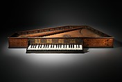 Spinet, Wood, parchment, ivory, paint, Italian