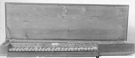 Clavichord, Various materials, possibly German